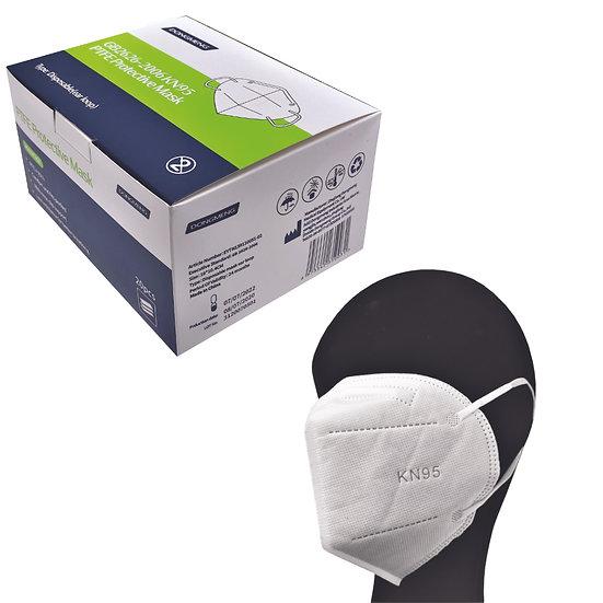 20x KN95 CPA Atemschutzmaske Faltmaske nach PSA-Kategorie III