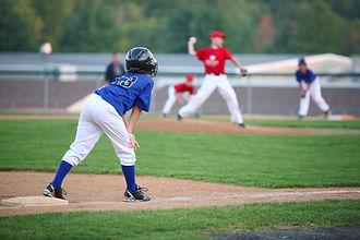 Jugend-Baseball-Spiel