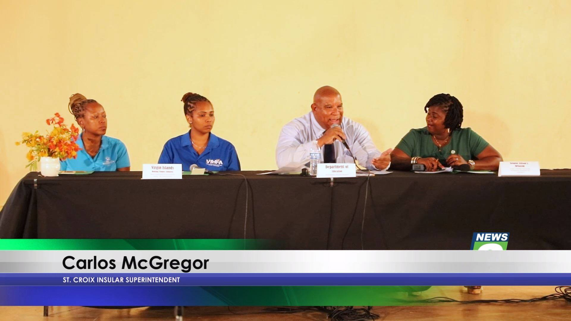 201 Ninth Grade Students on St. Croix Retained