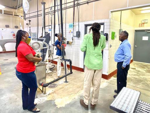 Sen. DeGazon provides update on opening of abattoir