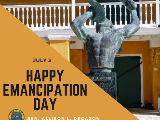Happy Emancipation Day Virgin Islands