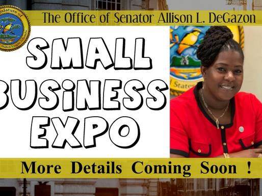 Sen. DeGazon to host Small Business Expo on St. Croix