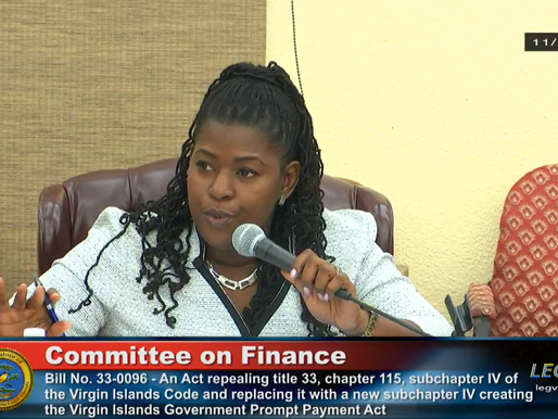 Sen. DeGazon pushes government prompt payment bill to streamline payment to small businesses