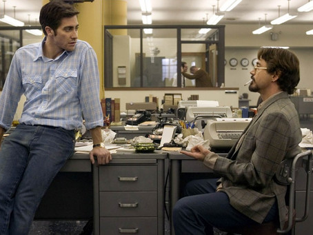Why did we forget about David Fincher's Zodiac?