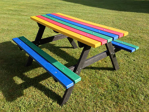 1500mm Multi Colour Picnic Table