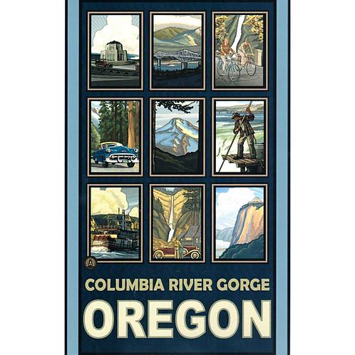Columbia Gorge Collage- 2 sizes