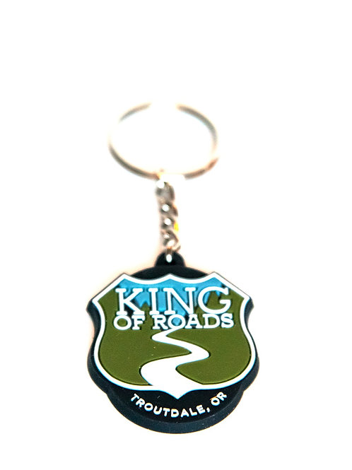 King of Roads Keychain