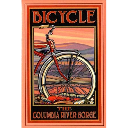 Columbia River Gorge with Vintage Bike