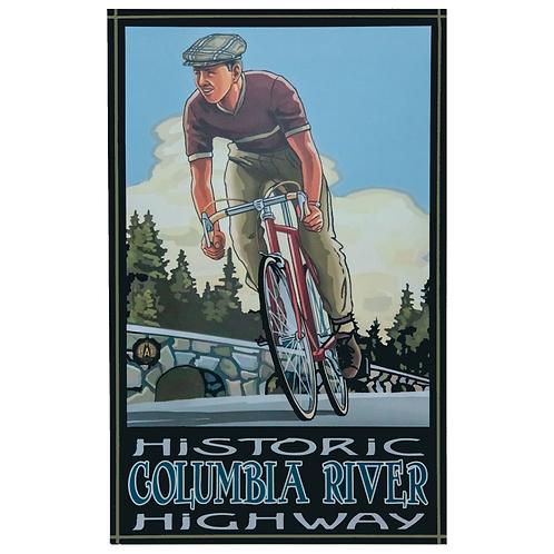 Historic Columbia River Down Hill Biker