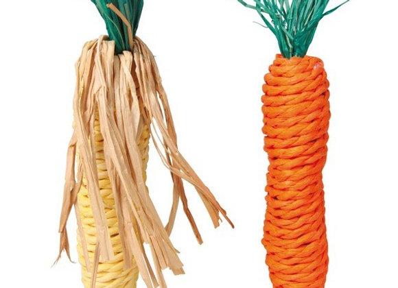 Игрушка морковь и кукуруза
