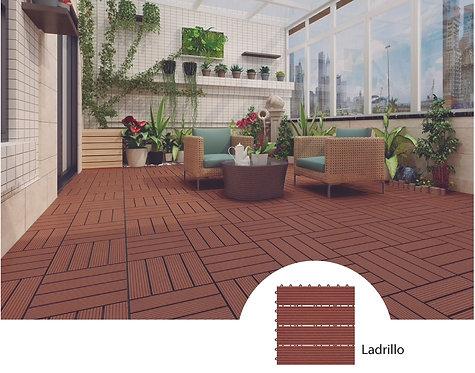 Deck Wpc - Ladrillo