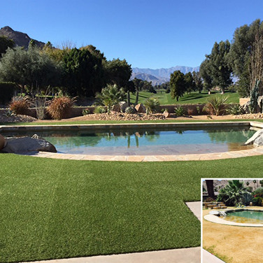 Artificial Turf Pool Remodel