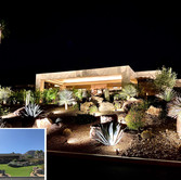 Night View in Rancho Mirage