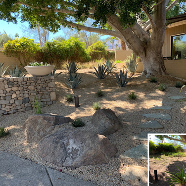 Front Yard Before and After