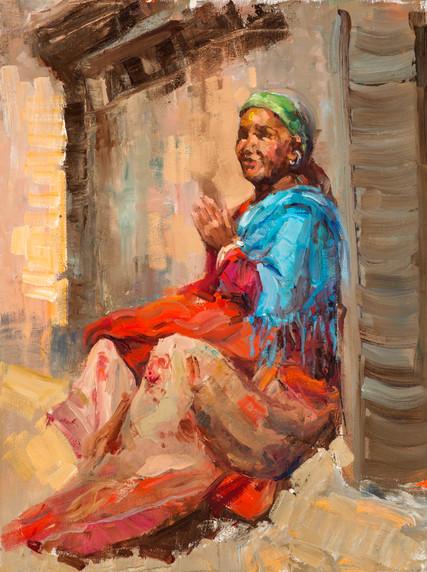 Sunlit Prayer