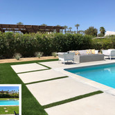 Rancho Mirage Backyard Pool Before and After