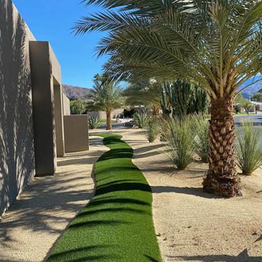 Modern Desert Walkway