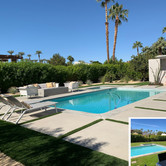 Modern Backyard Pool Before and After