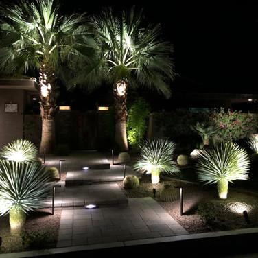 Nightview, Palm Desert Entryway