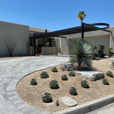 Desert Landscape Update in Palm Desert
