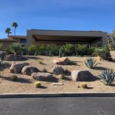 Modern Hillside Landscape