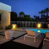 Pool Night Lighting