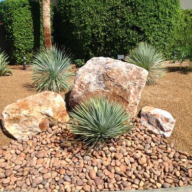 Desert Landscaping Accents