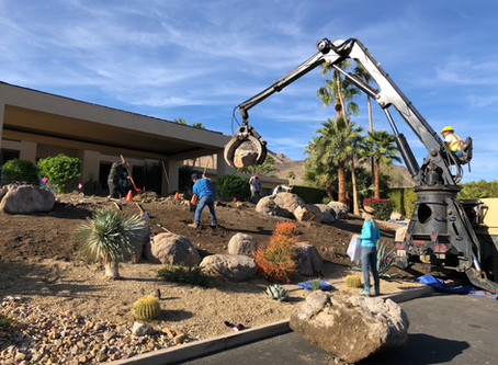 How to Rock Out Your Desert Landscape Design with Boulders