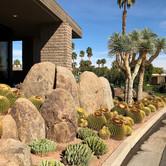 Modern Side Yard Boulder Landscape