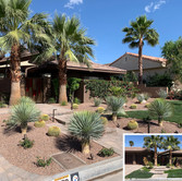 Desert Curbside Before and After