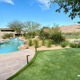 Pool and Artificial Turf