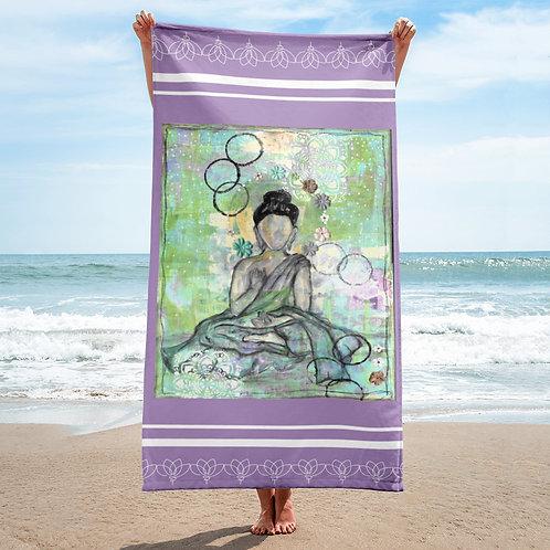buddah towel