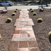 Pavers in Front Yard Entry