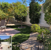 Palm Desert Backyard Before and After