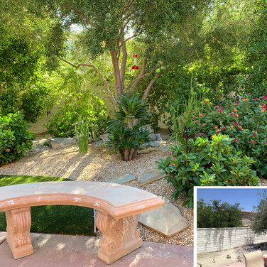 Palm Desert Backyard Remodel Before and After