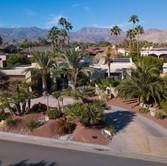 Aerial Desertscape View