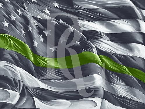 "Flag - ""Military"""