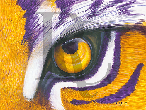 """Purple & Gold Tiger Eye"" (Single)"