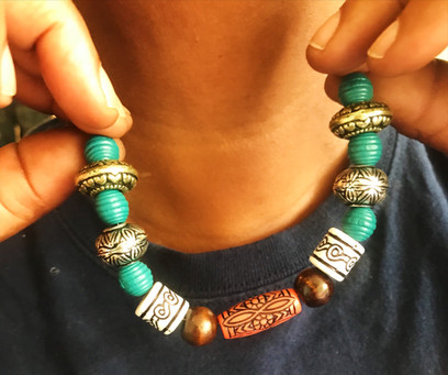 Beaded Necklace- Anonymous