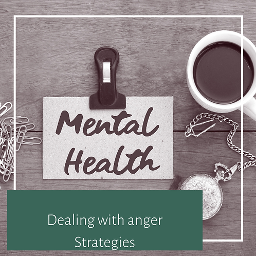 Dealing With Anger Strategies