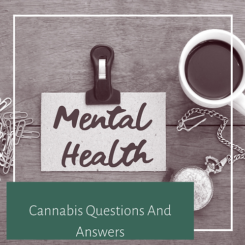 Cannabis Questions and Answers