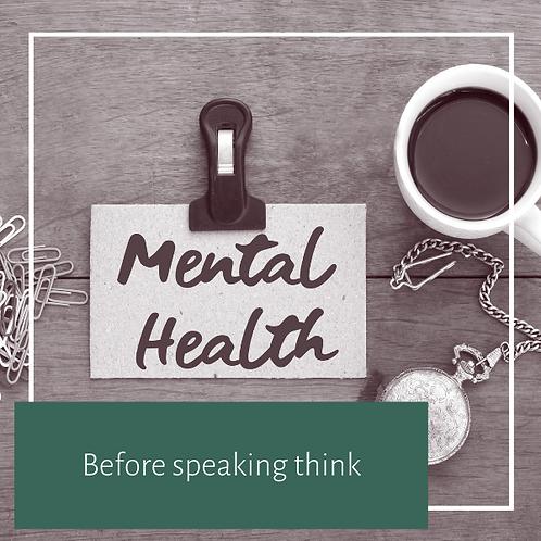 Before Speaking Think