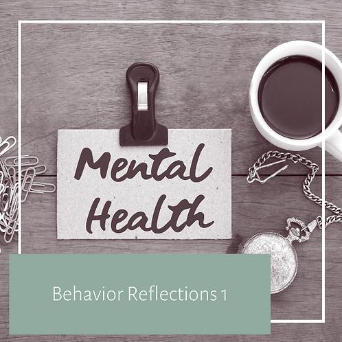 Behaviour Reflections 1