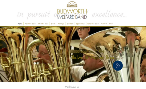 New Website for Blidworth