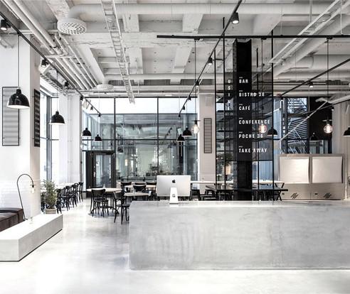 Restaurante Usine, inspiración escandinava