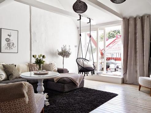 Casa decorada con encanto