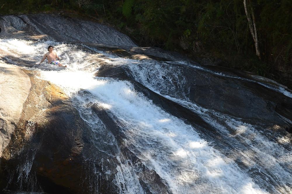 Escorregando em Visconde de Mauá