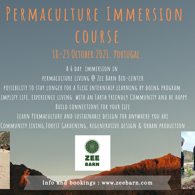 Permaculture Immersion Course
