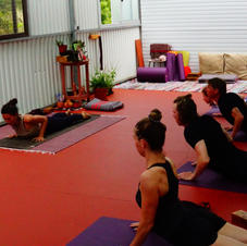 Enjoy a yoga class and recharge