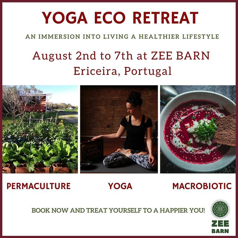 6 Day Yoga Eco Retreat